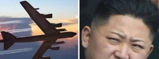 Los bombarderos de EEUU sobrevolando Corea del Sur para asustar al 'atómico' Kim Jong-un