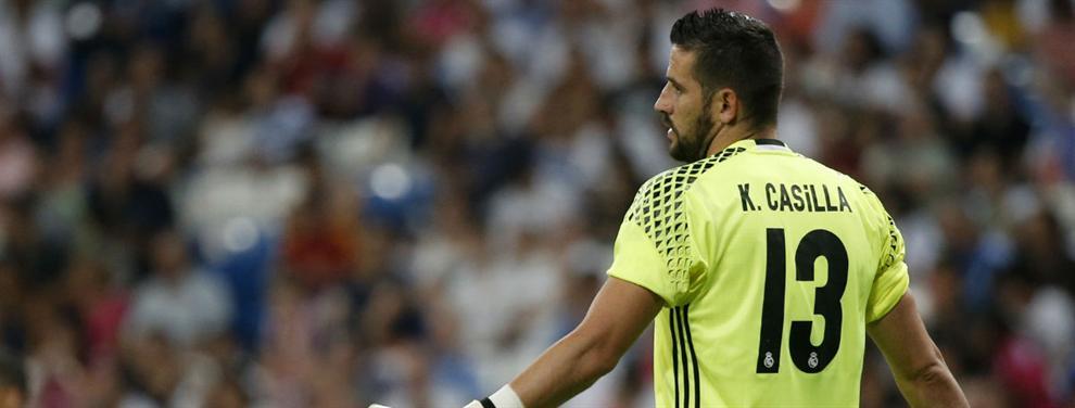 La decisión de Zidane de relegar a Casilla a la Copa indigna a un sector del Real Madrid