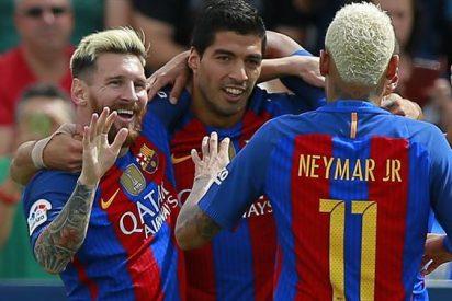 La estadística monstruosa que alcanzó la MSN del Barça el fin de semana