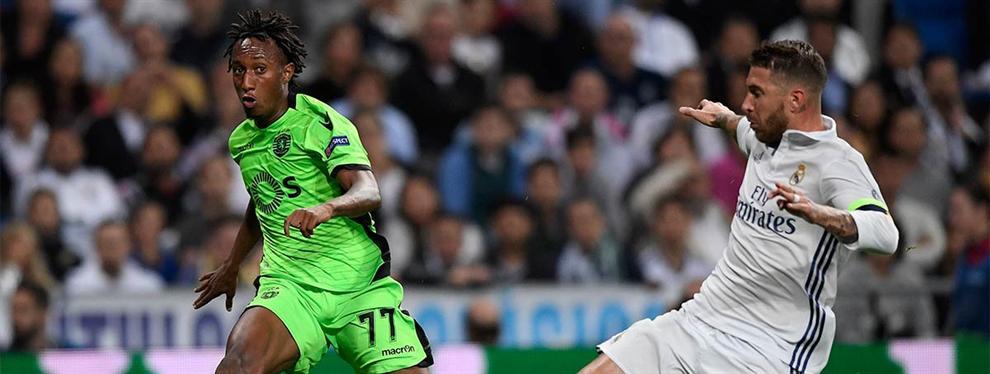 La jugada del Soporting CP con Gelson para evitar su fichaje por el Madrid