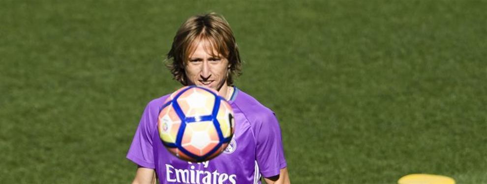La plantilla del Real Madrid echó en falta a Luka Modric
