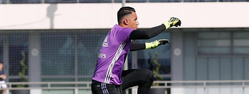¡La sanción FIFA al Real Madrid dispara el lío con Keylor Navas!