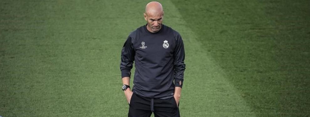 La táctica secreta de Zinedine Zidane para evitar las patadas de los rivales