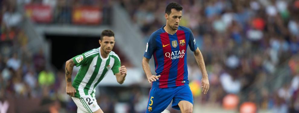 Las cláusulas del nuevo contrato de Sergio Busquets con el Barça