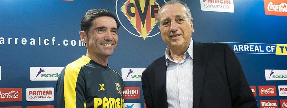 ¡Lío! El palo enorme del presidente del Villarreal a Marcelino