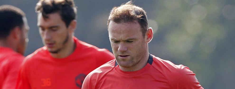 Lío en gordo entre Mou y Rooney en el Manchester United