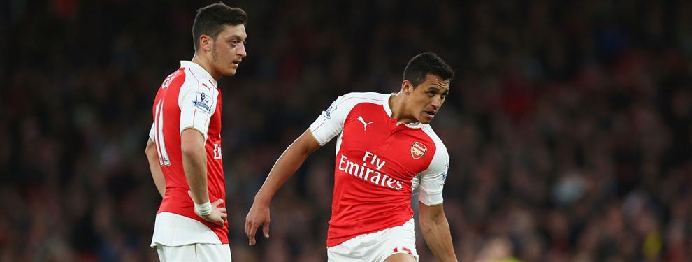 Lo que el Arsenal le promete a Alexis para que se olvide de España