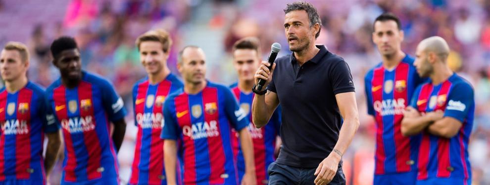 Lo que el Barça no cuenta de la renovación de Luis Enrique