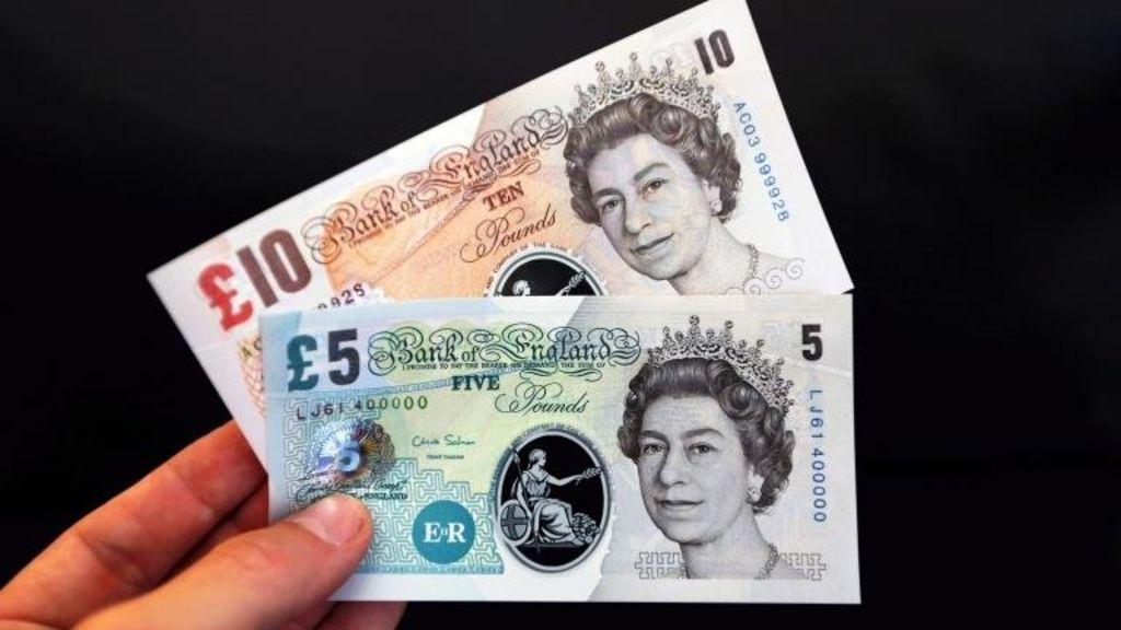 El nuevo billete de plástico de cinco libras entra en circulación este 13 de septiembre de 2016