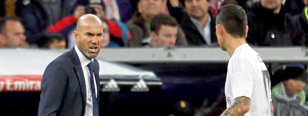 Los planes secretos de Zidane con James Rodríguez