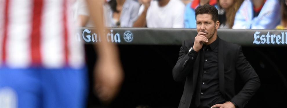 Los ?tocados? por el plan de Simeone en el Atlético de Madrid