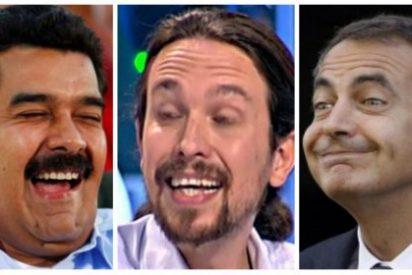 Zapatero se va patas abajo para no ser alcanzado por la gran Toma de Caracas
