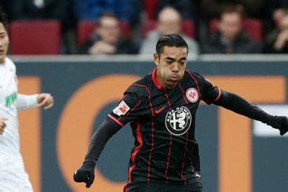 Marco Fabián vuelve a anotar con el Frankfurt
