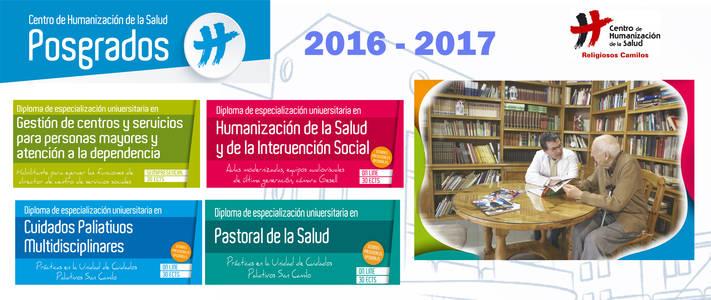 Nueva oferta de posgrados en el Centro de Humanización de la Salud