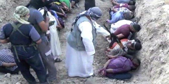 'El Infierno de los Apóstatas': la macabra fosa donde los demonios del ISIS asesinaron a 50 chiitas iraquíes