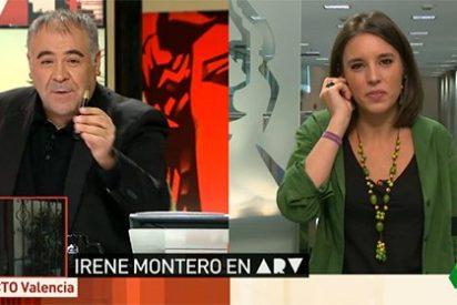 """El palo de Ferreras a Montero tras decir que Iglesias siempre va de cara: """"Pregúntele a Sergio Pascual"""""""