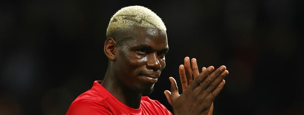 ¡Mourinho quiere un amigo para Pogba en el United?¡del Real Madrid!
