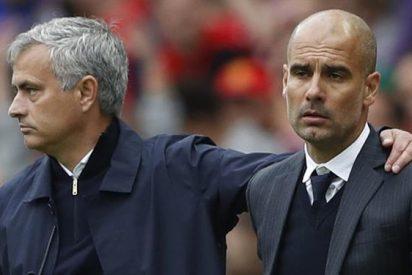 Mourinho se acordó de los Barça-Madrid tras perder ante Guardiola
