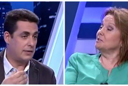 'Zasca' de Naranjo a Sáenz por no saber cuántos diputados independentistas hay en el Congreso