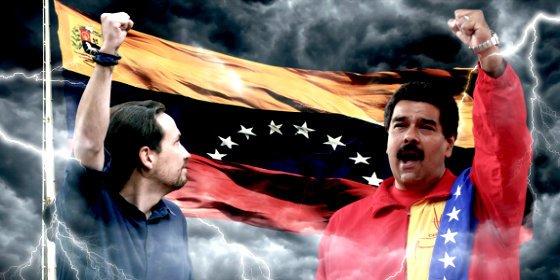 """Maduro se llena la boca con el mantra de Podemos para chantajear a los hambrientos: """"¡Sí se puede!"""""""