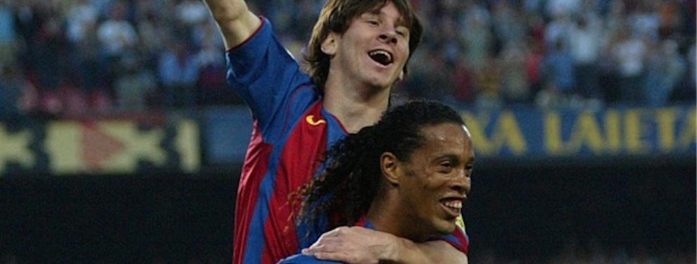 Para Ronaldinho, Lionel Messi no es el mejor jugador del mundo
