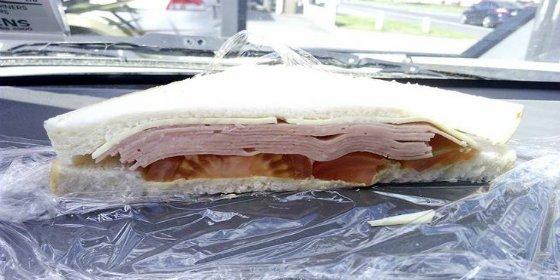 El engañoso sándwich que se le atraganta a todos en las redes sociales