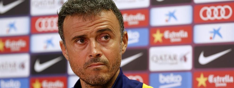 Primer gran lío de Luis Enrique en el Barça con un nuevo fichaje