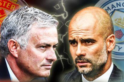 Pep Guardiola gana a José Mourinho el primer duelo entre ambos de la temporada