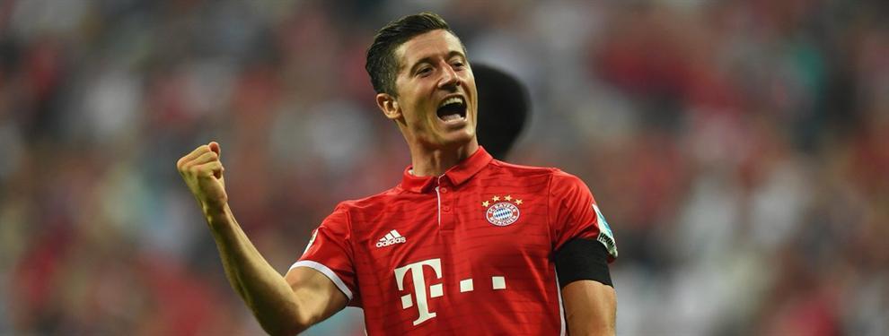 Que se olvide el Madrid: El futuro de Lewandowski va tomando forma