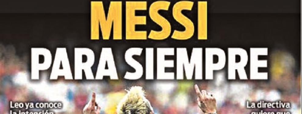 """""""Quisiera verlo a Messi para siempre"""": En Barcelona sueñan con una Pulga eterna"""