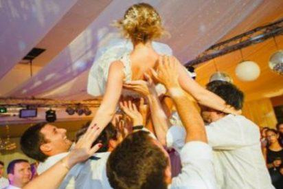 La dejan parapléjica durante su boda por culpa de los alegres invitados