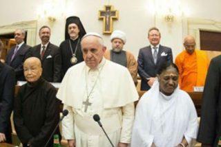 """Francisco pide a las religiones """"condenar de forma rotunda"""" el terrorismo y la violencia"""