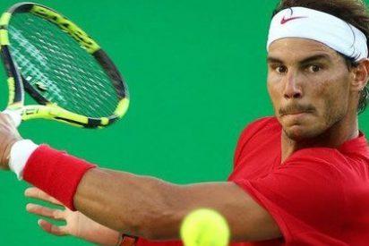 Rafa Nadal se mete a lo grande en a octavos del Open USA