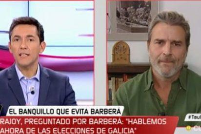 """El podemita Alberto San Juan se hace la víctima: """"El acoso mediático que sufre Podemos no ha pasado nunca en la historia de este país"""""""