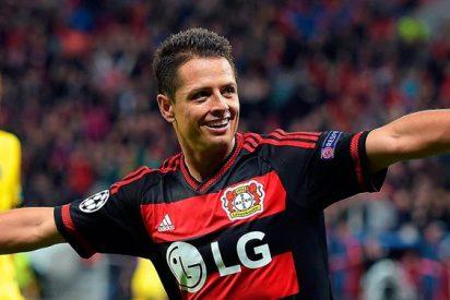 Se cumple un año del Chicharito en el Leverkusen