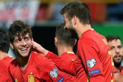 Sergi Roberto se come a Carvajal (y el Barça al Real Madrid)