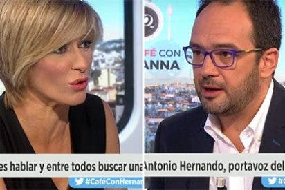 """Griso apalea a Hernando: """"Si Sánchez no se postula, ¿para qué la ronda de contactos?"""""""