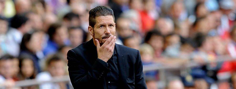 Simeone tiene un grave problema con Luis Enrique y el Barça