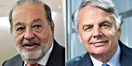 Mutua Madrileña y Carlos Slim se convierten en accionistas de referencia de CaixaBank