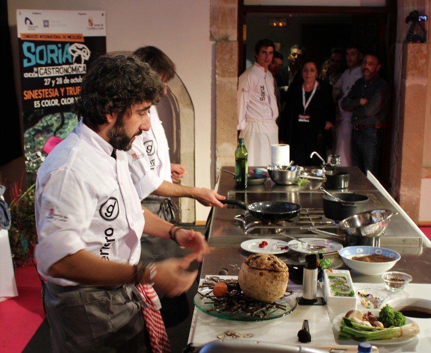 'Soria Gastronómica' cierra un programa que reunirá a 20 cocineros con 17 estrellas Michelin