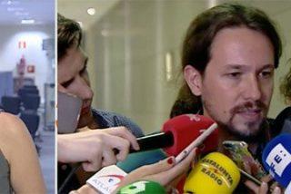 La errejonista Tania le hizo 'la cama' al líder Pablo Iglesias, que se enteró por la prensa