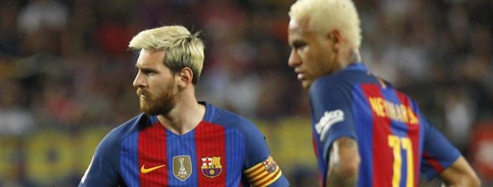 Top Secret: Messi no se cree el peloteo interesado de Neymar