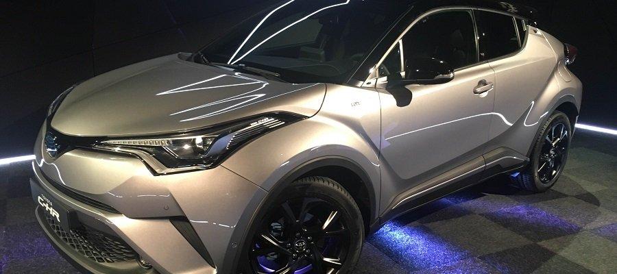 Toyota presenta en sociedad al C-HR 'Launch Edition'