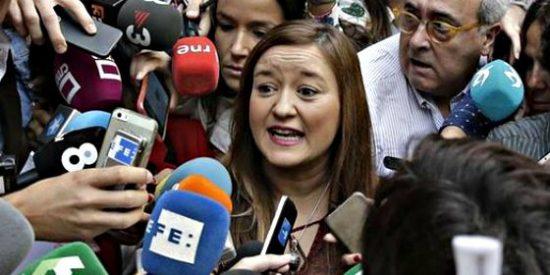 """La presidenta del Comité Federal del PSOE: """"La única autoridad soy yo"""""""
