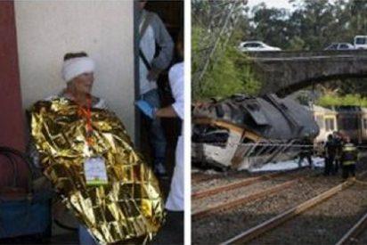 Exceso de velocidad, el principal factor que se investiga en el accidente de tren en Galicia
