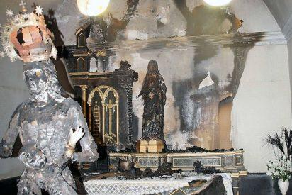 El Arzobispo de Pamplona pide que no haya rencor tras el ataque a las imágenes de Fontellas