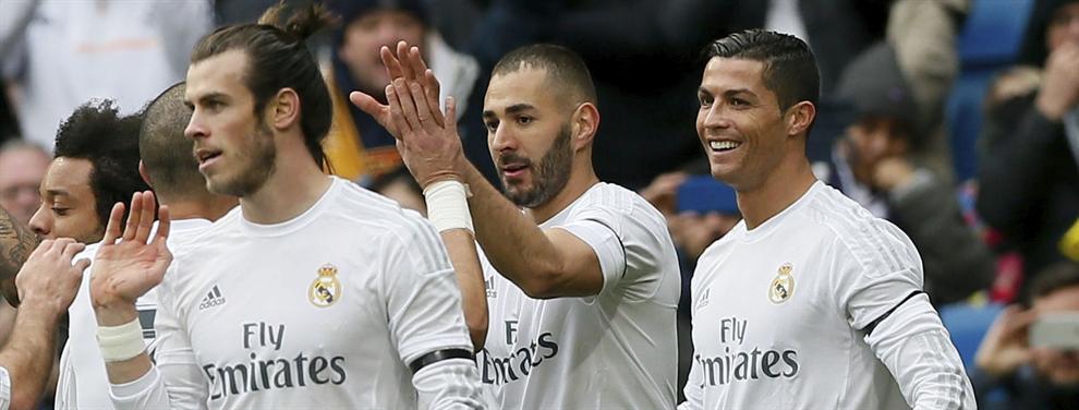 Zidane cierra a un cuarto delantero para el ataque del Real Madrid