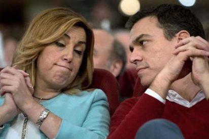 El PSOE, en llamas