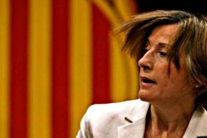 """La fiscalía decide empitonar a Forcadell y subraya su """"total desprecio"""" a la Constitución"""