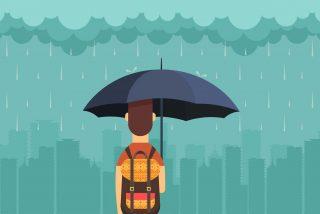 Una borrasca atlántica dejará fuertes lluvias en todo la Península Ibérica desde este 21 de octubre